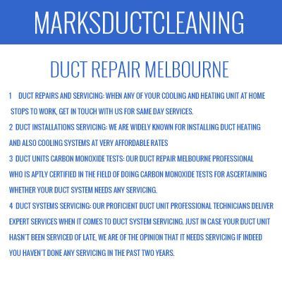 Central Duct Repair Moonee Ponds