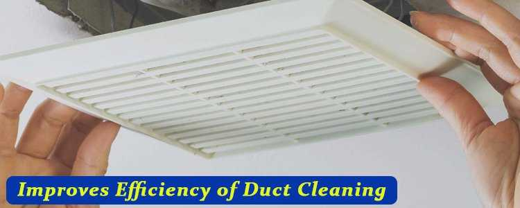 Improves Efficiency Of Duct Cleaning