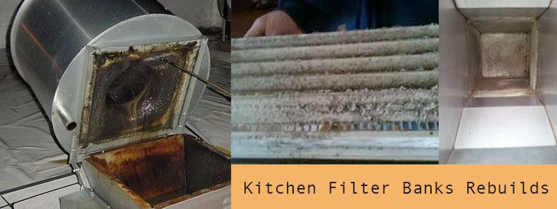 Kitchen Filter Banks Rebuilds