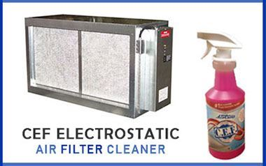 CEF Electrostatic Air Filter Cleaner
