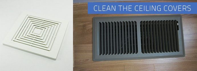 Clean the Ceiling Covers