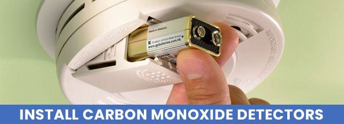 Install Carbon Monoxide Detectors