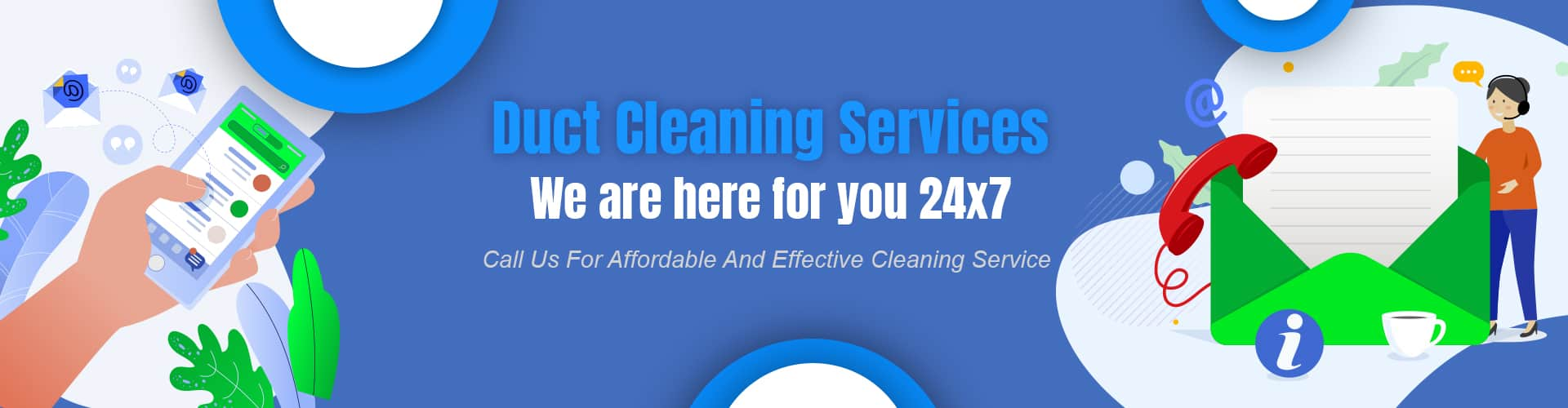 Contact Us For Duct Cleaning Services