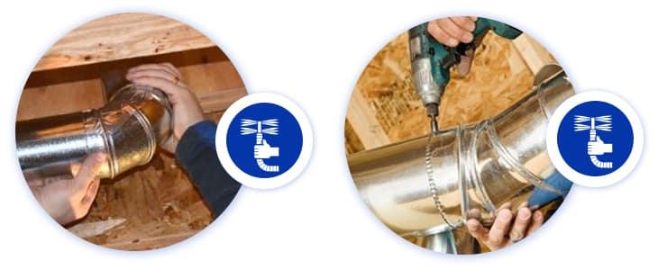 Duct Retain Pipes Repair Melbourne
