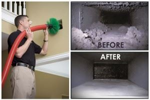 Floor Duct Cleaning & Ceiling Duct Cleaning Main Ridge